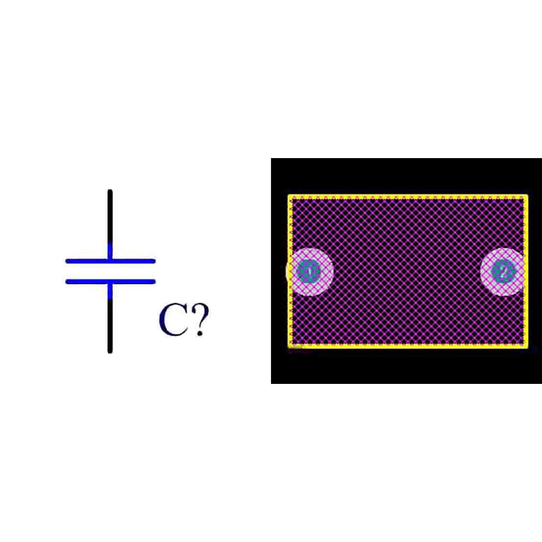 فوت پرینت خازن پلی استر 100n 400v
