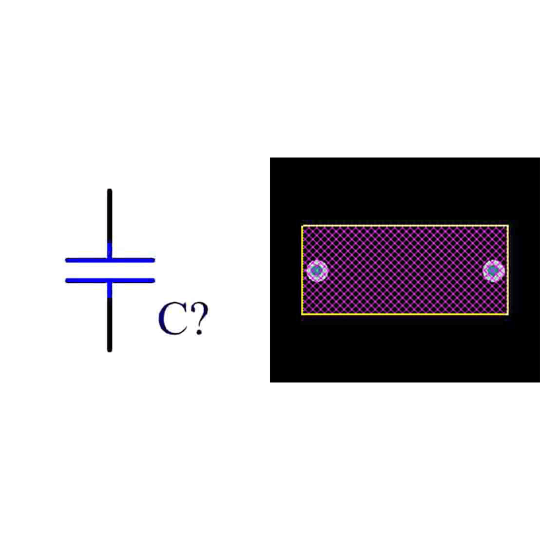 فوت پرینت خازن پلی استر 220n 400v