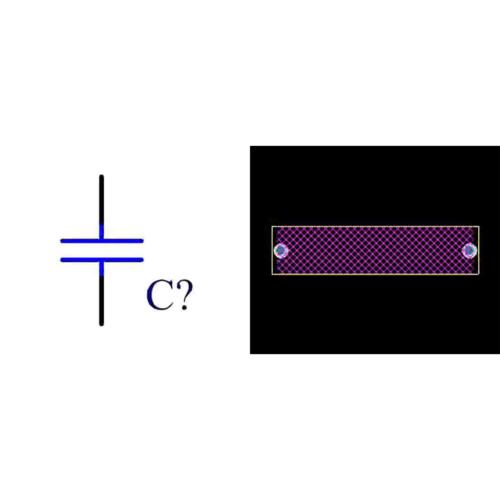 فوت پرینت خازن پلی استر 330n 400v