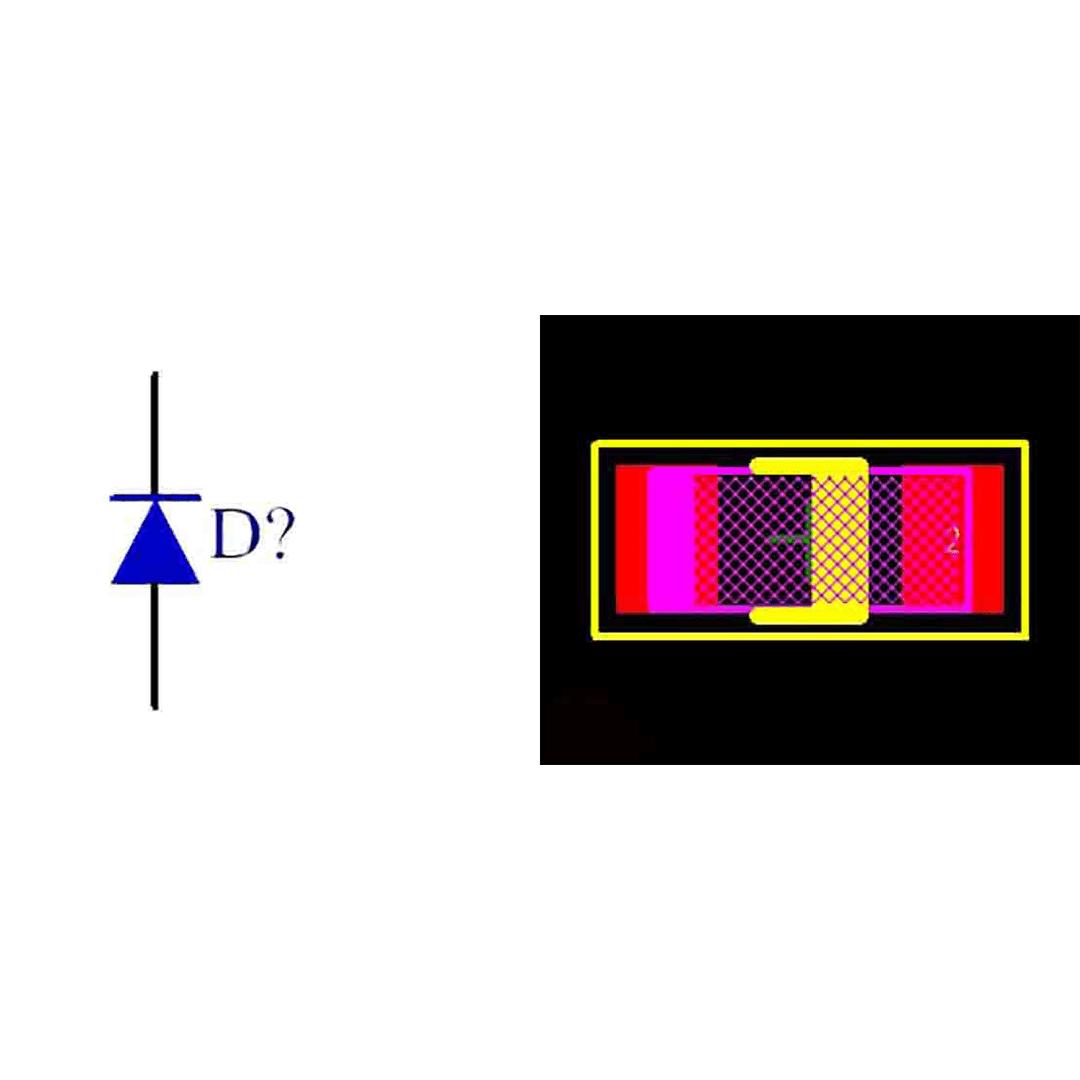 فوت پرینت دیود 1N4148 SMD