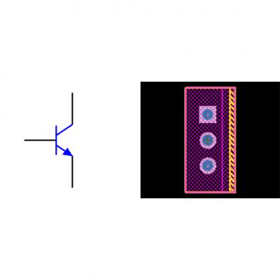 فوت پرینت ترانزیستور MJE15028