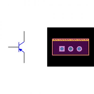 فوت پرینت ترانزیستور TIP42C