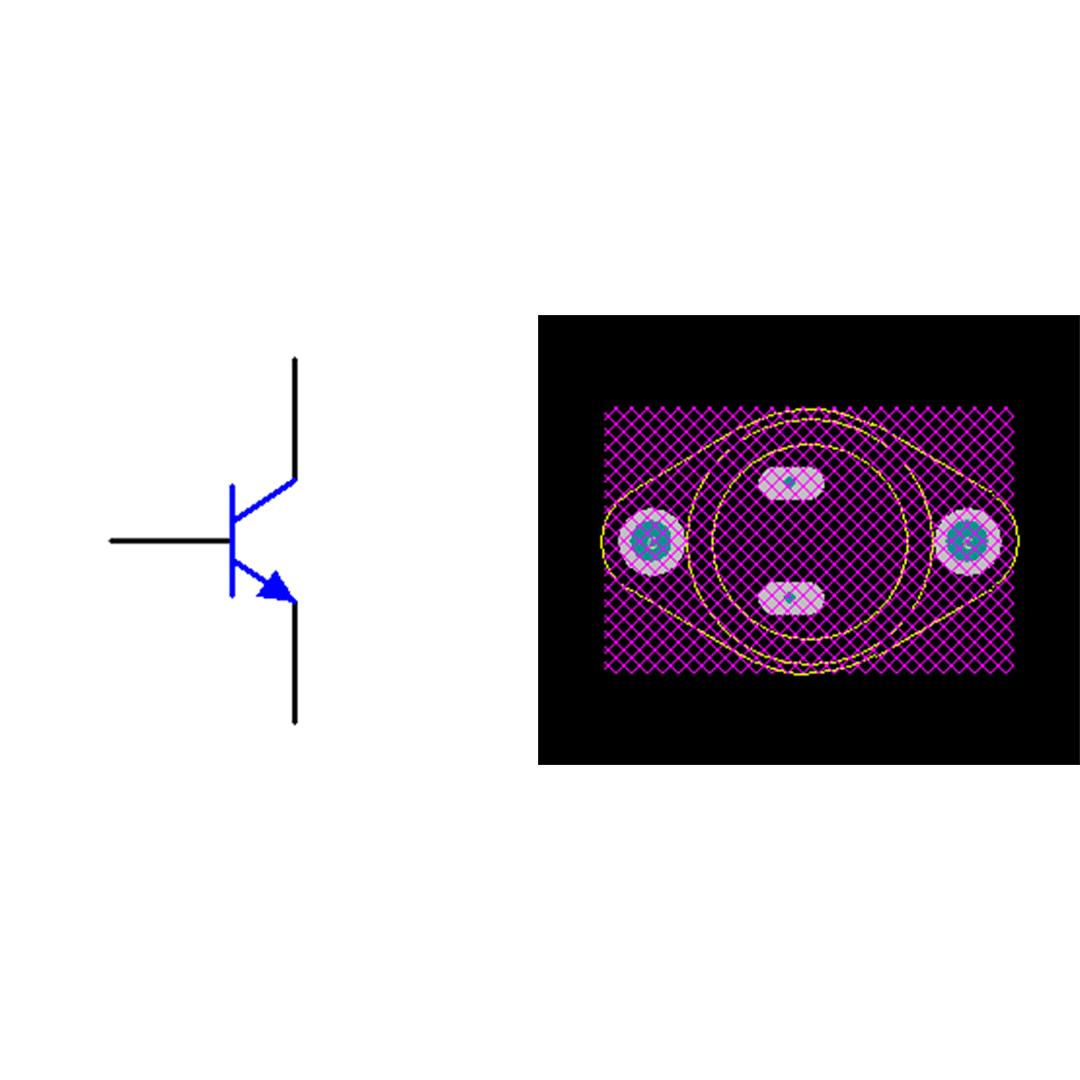 فوت پرینت ترانزیستور 2N3055