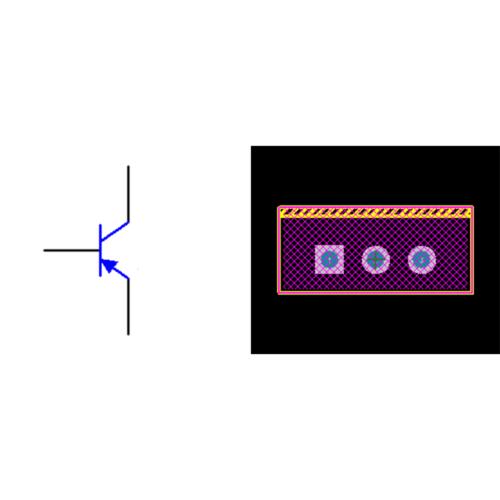 فوت پرینت ترانزیستور TIP127